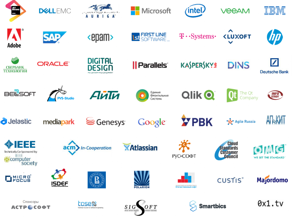 SECR partners logos 2011-2019